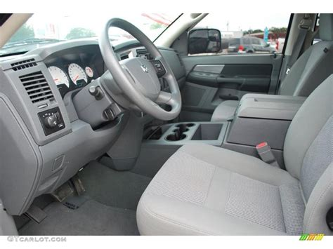 2008 Dodge Ram 1500 Interior by Medium Slate Gray Interior 2008 Dodge Ram 1500 Slt Mega