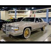 Cadillac On Gold Daytons In HD  YouTube