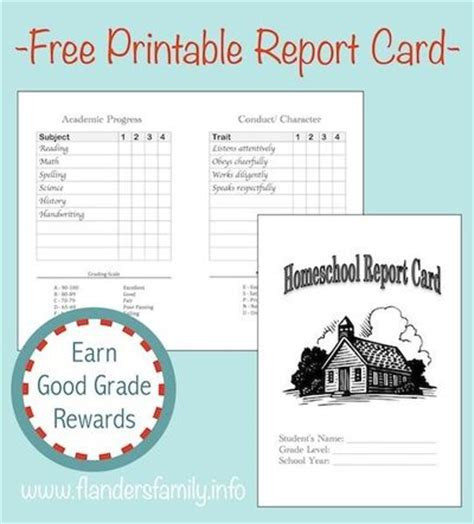 free printable report cards and lots of other great