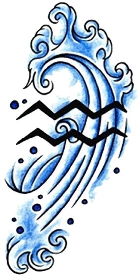 aquarius tattoo designs 30 best aquarius tattoos weneedfun