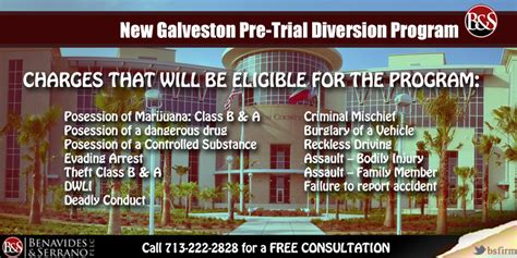 Diversion Criminal Record New Galveston County Pre Trial Diversion Program Criminalattorneysinhouston