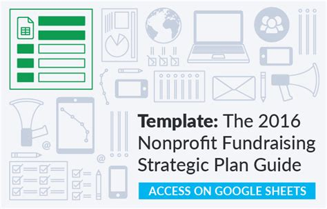 fundraising strategic plan template the nonprofit fundraising strategic plan guide