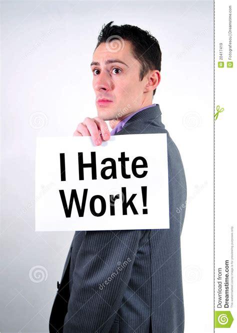 i work i work stock image image of communicate handing
