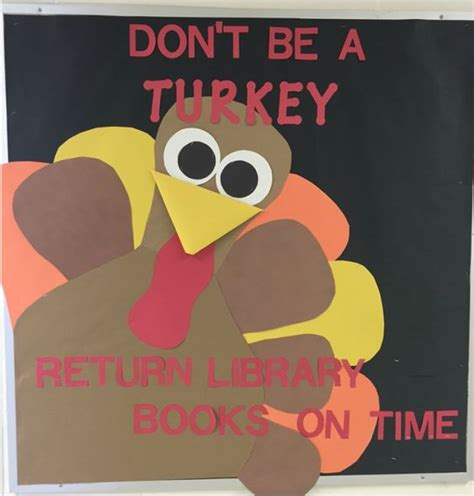 printable turkey for bulletin board library bulletin boards bulletin boards and november on
