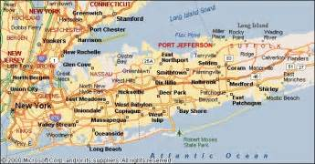 Map Of New York City And Long Island by Riviera Directions