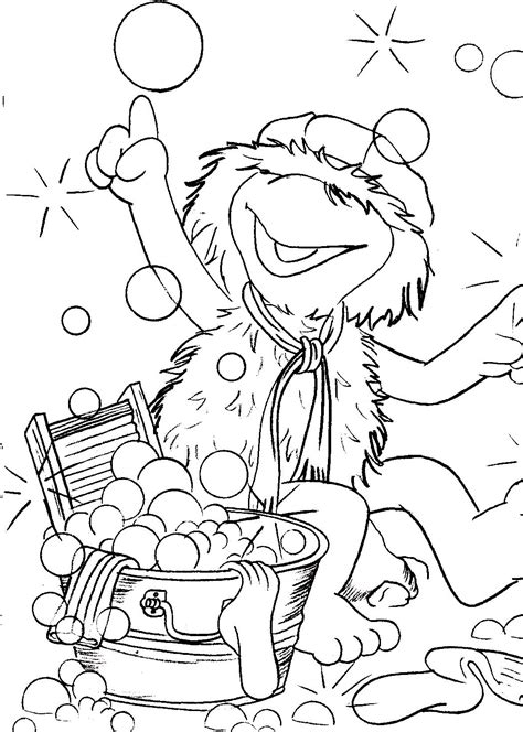 fraggle rock coloring pages muppet central forum