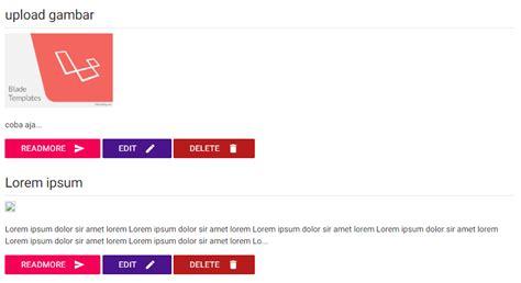 tutorial upload gambar php tutorial upload gambar foto dengan laravel 5 2 gilacoding