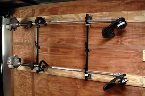 Enclosed Trailer Trimmer Racks by Buyers Lt12 3 Trimmer Landscape Truck Trailer Enclosed