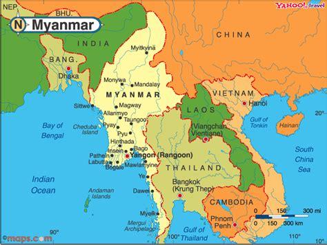 Burma World Map by Where Is Burma On The Map