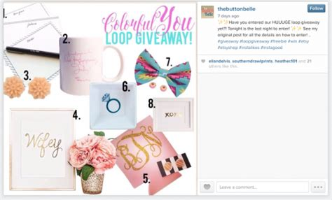 Giveaway Instagram - how to host a loop giveaway on instagram part 1 tin shingle