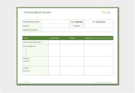 free meeting agenda templates smartsheet