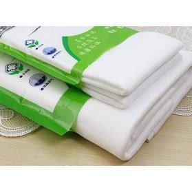 travel hygienic disposable towel independent fitted 70 x 140 cm handuk white