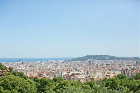 barcelona from above view from above of barcelona spain entouriste