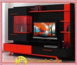 Tv Unit Design Ideas Photos Modern Lacquered Tv Wall Units And Red Tv Unit Designs