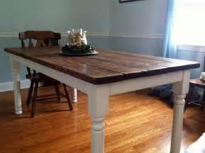 How To Make A Dining Room Table how to build a vintage style dining room table yourself