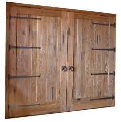 Barn Wood Door Garage Doors Solid Cedar Barn Doors Handforged Iron 8425st