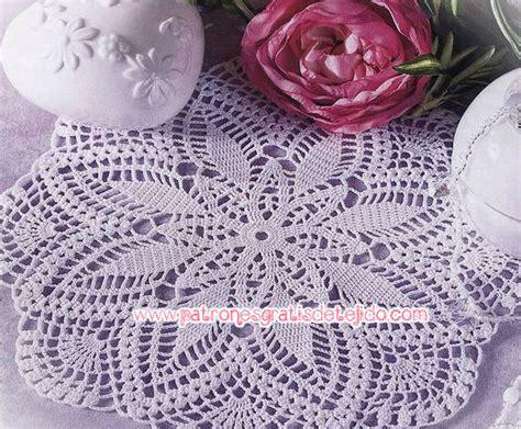carpeta de crochet patron es 17 patrones de carpetas crochet crochet y dos agujas