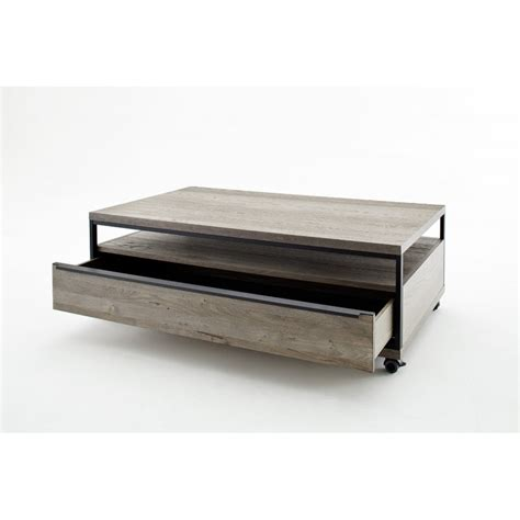 avignon grey oak coffee table modern wood collections