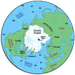 Map Of The World North Pole by North Pole Arctic Map Arctic Tundra Arctic Circle