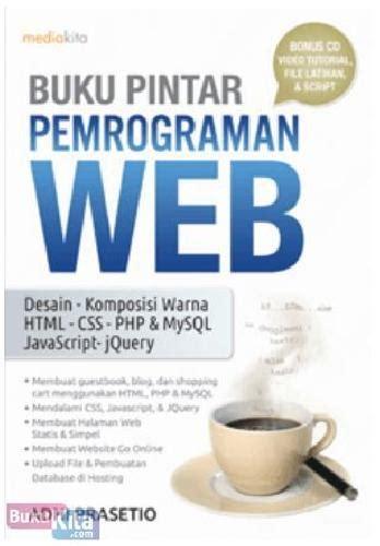 Pemrograman Web bukukita buku pintar pemrograman web toko buku