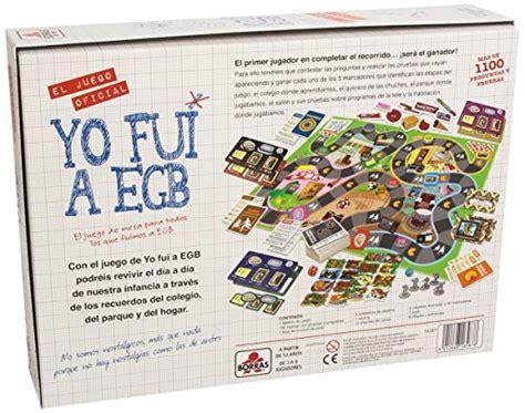 libro juego yo fui a educa borr 225 s yo fui a egb juego de mesa 16587 mejores regalos