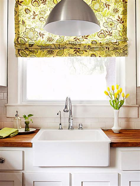 kitchen shades and curtains 2014 kitchen window treatments ideas decorating idea