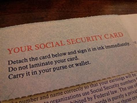 why not laminate social security card so i kept my ssn card in my wallet and i lost my wallet
