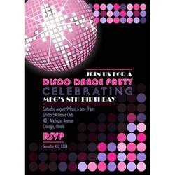 disco invitation cards google search disco pinterest