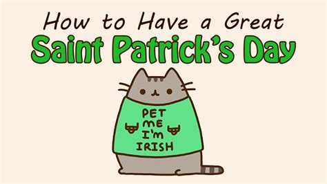 how to have great how to have a great saint patrick s day youtube