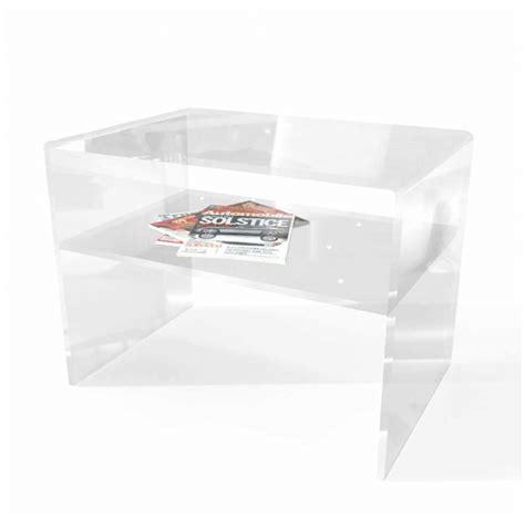 comodino trasparente tavoli in plexiglass made in italy per casa uffici e