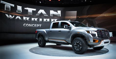 where is nissan titan made nissan titan warrior concept and ids featured at naias 2016