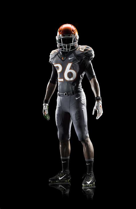 design lab uniforms miami miami hurricanes unveil new 2014 nike football uniform