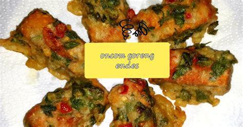 resep olahan oncom goreng enak  sederhana cookpad