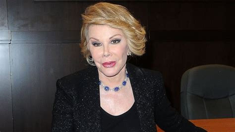 Joan Rivers Mourns The Passing Of by Joan Rivers Fashion Co Completely