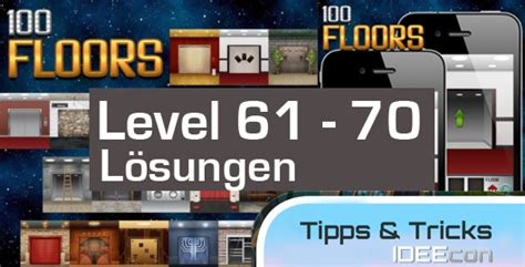 100 Floors Level 62 - 100 floors level 61 62 63 64 65 66 67 68 69 70