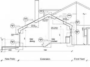 House Floor Plans With Measurements building warrant drawings for a house extension youtube
