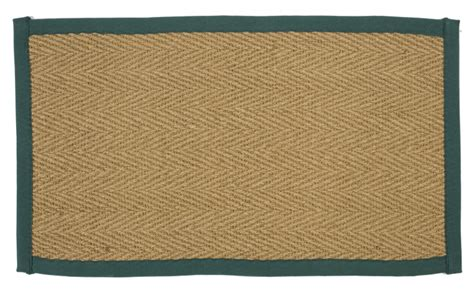 taped rugs machine woven traditional herringbone coir mat border indoor rug ebay