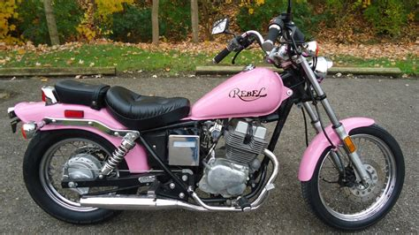 1985 Honda Rebel by 1985 Honda Rebel Cmx 250 Cmx250 Custom Pink Classic