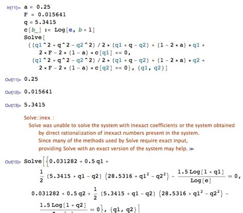 How To Find Of I Equation Solving How To Find These Two Intersections Mathematica Stack Exchange