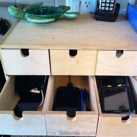 how to build a charging station easy peasy diy electronics charging station the