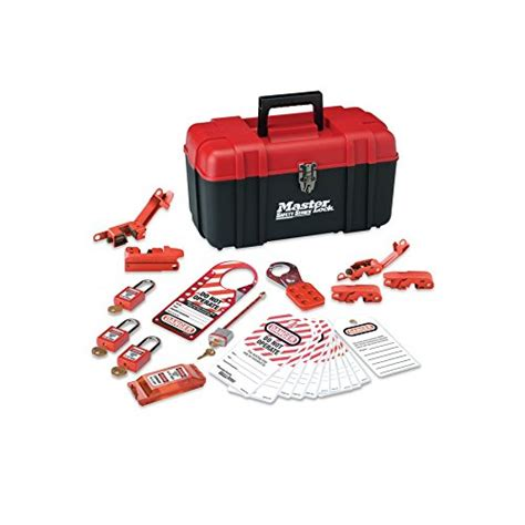 Masterlock 1458ve410 Lockout Kits master lock lockout tagout kit electrical lockout kit with import it all
