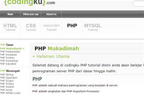 tutorial css layout bahasa indonesia dokumentasi data penting codingku com w3schools versi
