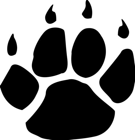 pictures of paws wildcat paw clipart clipart suggest