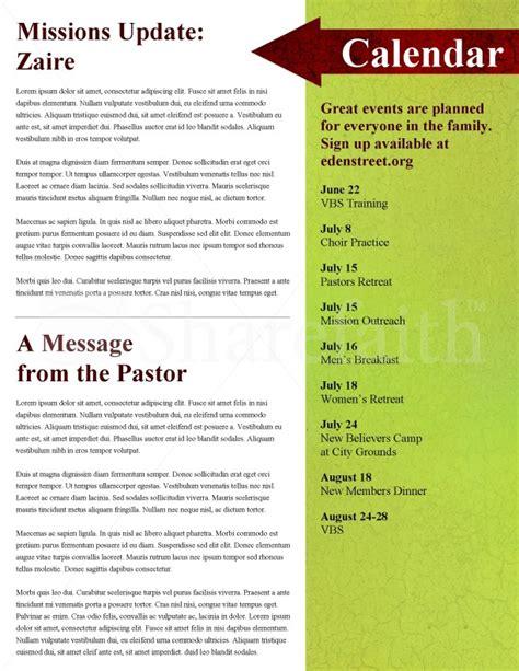 apple church newsletter template template newsletter