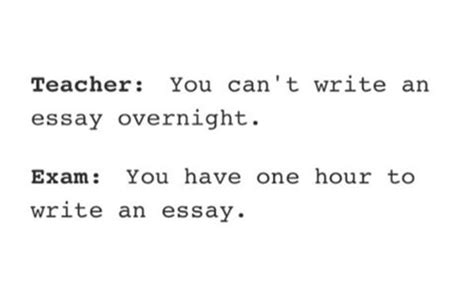 Can T Write My Essay by You Can T Write An Essay Overnight Justpost Virtually Entertaining