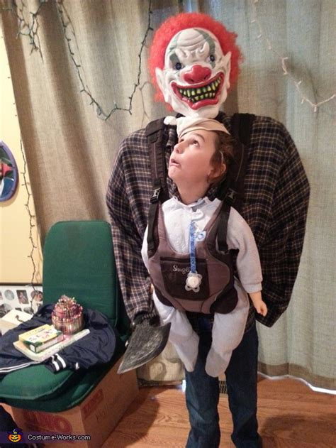 baby snatcher  baby abductor illusion costume photo