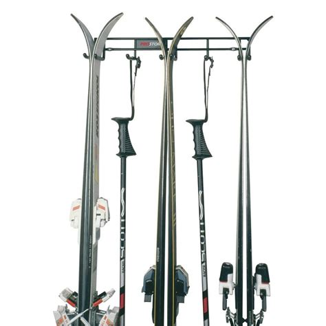 three 3 ski storage wall rack ski storage and racks