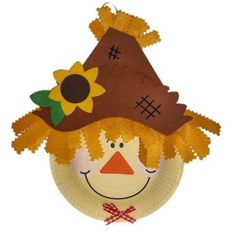 Paper Plate Scarecrow Craft - 17 best images about paper plate crafts for on