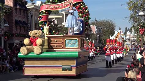 christmas buffets anaheim 2018 a parade of 2017 disneyland resort time