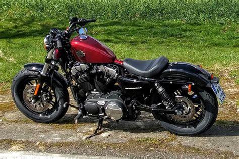 V2 Motorrad Test by Harley Davidson Sportster Fourty Eight Im Test